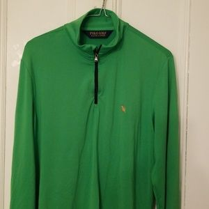 Polo Gold Pullover mens size medium. Great color.